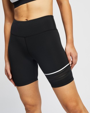 Lilybod Lewis Shorts - 1/2 Tights (Black)