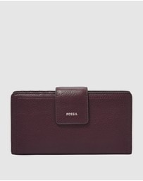 Fossil - Logan Purple Clutch