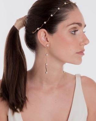 Nikki Witt Sandrine Earrings - Jewellery (Gold)