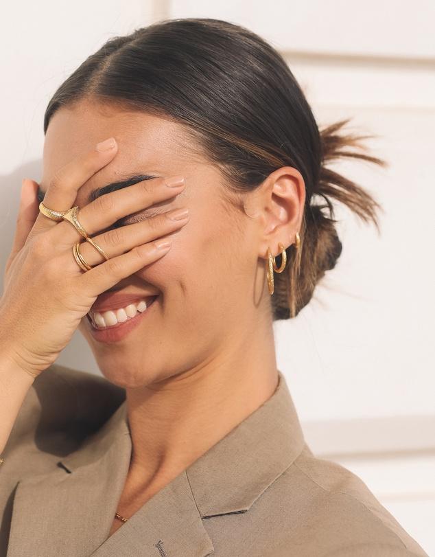 Women Sebastian Gold Hoop Earrings