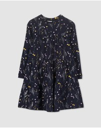 Milky - Winter Floral Dress - Kids