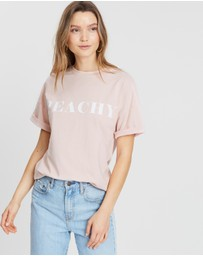 Atmos&Here - ICONIC EXCLUSIVE - Peachy Tee