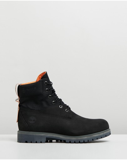 Timberland - 6-Inch Waterproof ReBOTL™ Fabric Boots - Men's