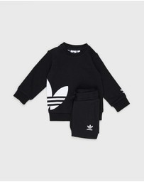 adidas Originals - Big Trefoil Crew Set - Babies