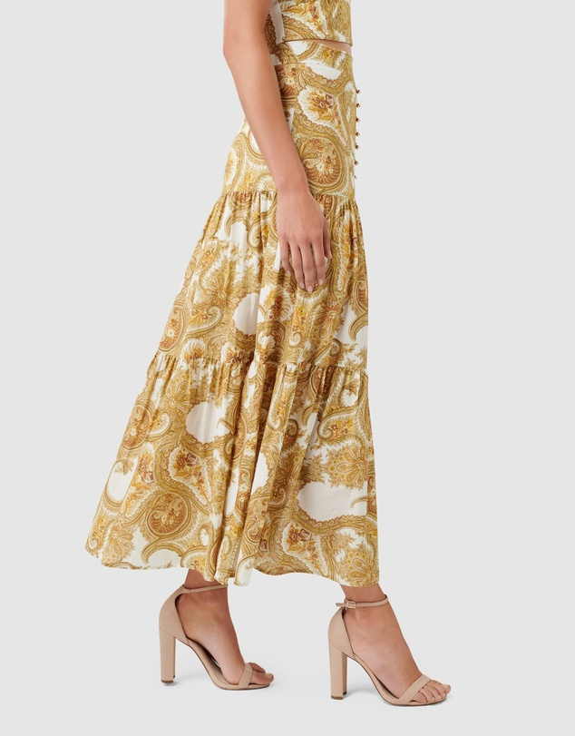 Forever New - Lilly Tiered Maxi Skirt