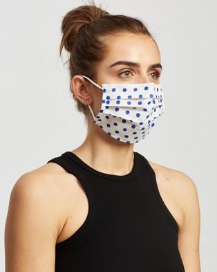 M.N.G Face Mask   2 Pack - Face Masks (Medium Blue)