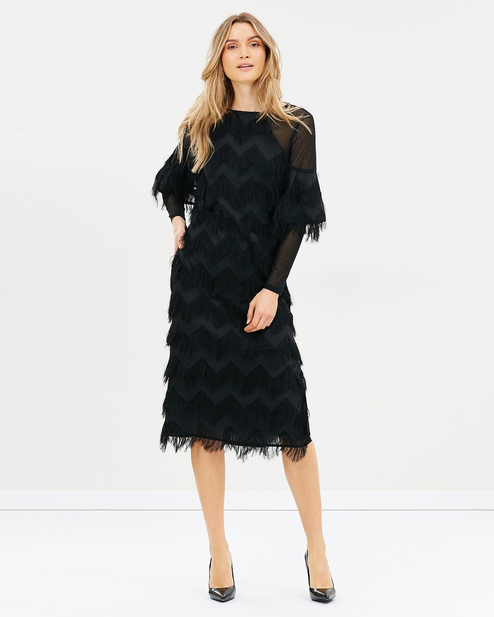 Elliatt Hilton Dress Dresses Black Hilton Dress