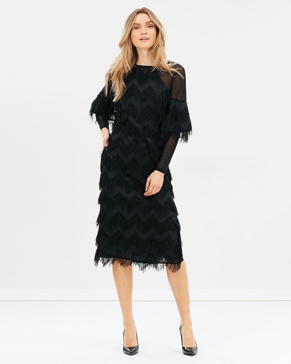 Elliatt Hilton Dress Dresses Black Hilton Dress
