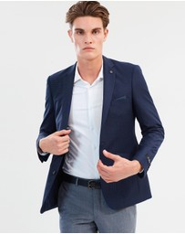 Burton Menswear - Tailored Grid Suit Jacket
