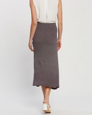Forcast Linda Midi Jersey Skirt - Skirts (Multi)