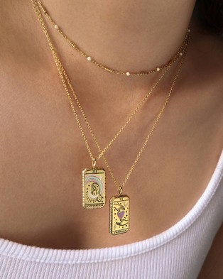 Wanderlust + Co L'Imperatrice Necklace - Jewellery (Gold)