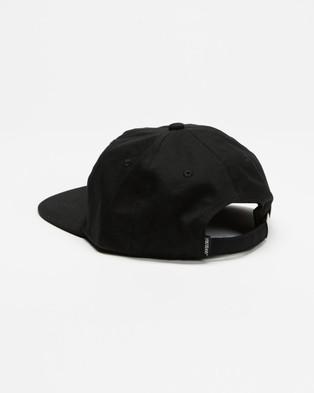 Santa Cruz Screaming Mono Dad Hat - Headwear (Black)
