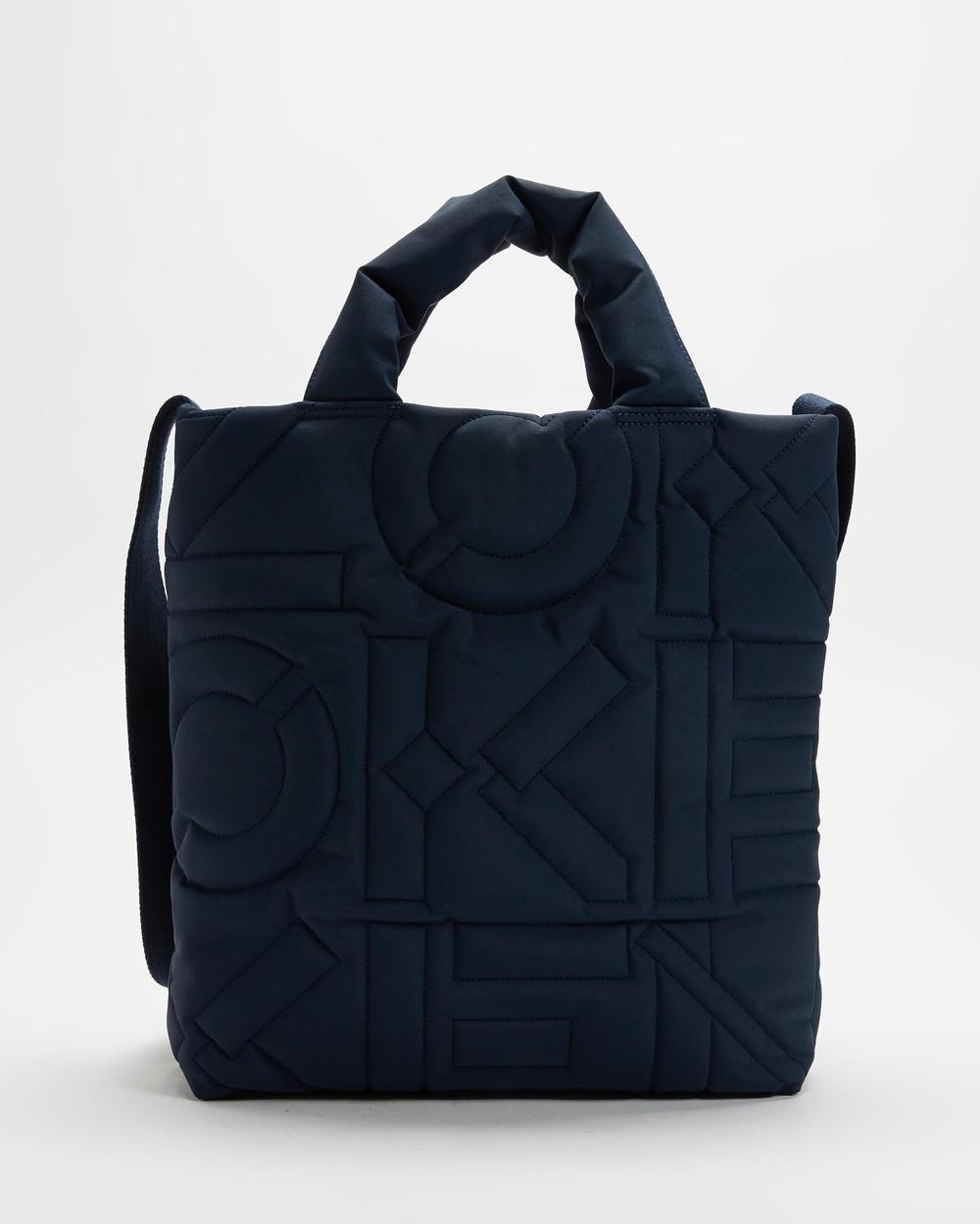 Kenzo Arctic Tote Bag Bags Navy Blue