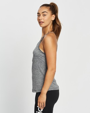 adidas Performance - Tank Top Muscle Tops (Black & White)