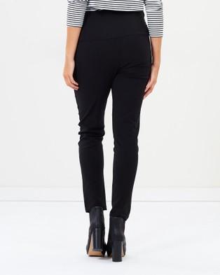Angel Maternity Maternity Fitted Slim Work Pants - Pants (Black)