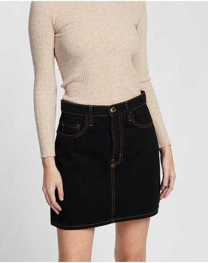 Nobody Denim Piper Skirt Solitary