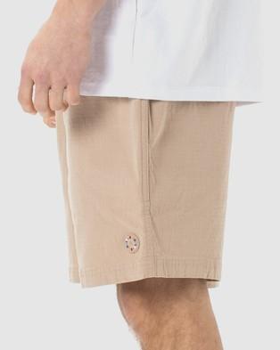 Barney Cools B.Quick Short Chino Shorts Tan Ripstop