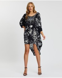 Camilla - Scoop Back Hem Dress