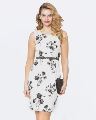 Alannah Hill – A Song Only I Hear Dress Black/White