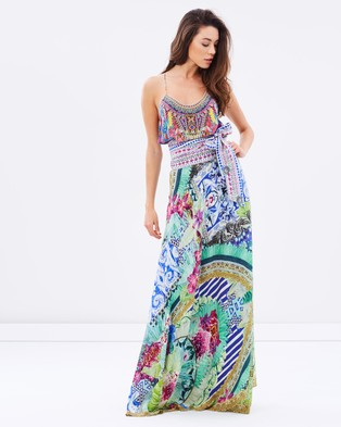 Camilla – Sarong Multi Wear Dress Bahia Bliss