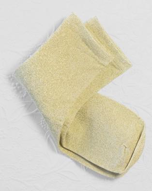High Heel Jungle Glitterati Socks - Socks & Tights (Gold)