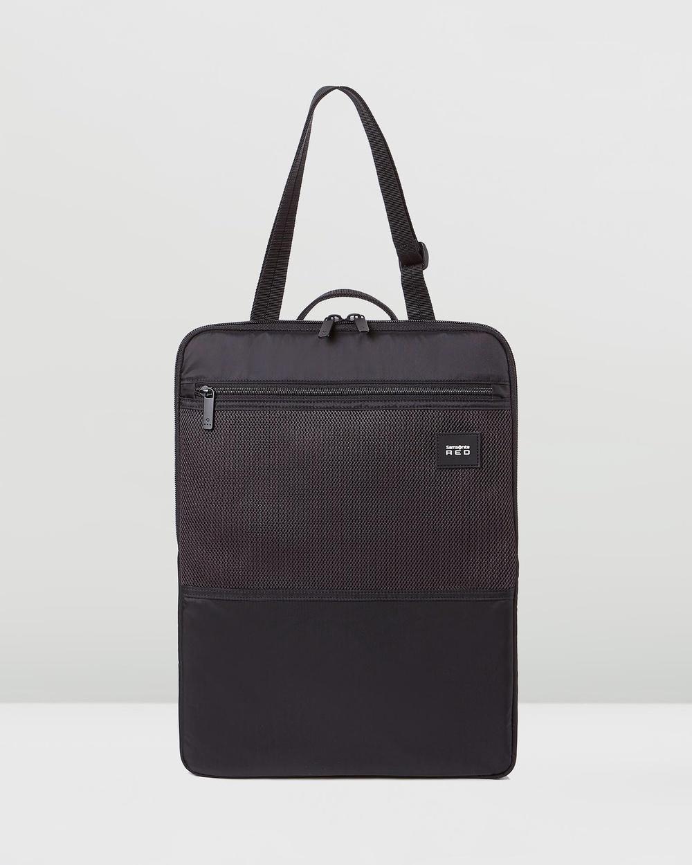 "Samsonite Red Pureum 14"" Laptop Organiser Bags Black Laptop Bags Australia"
