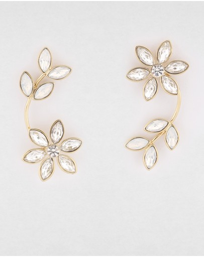 Peter Lang Gosta Earrings 18k Gold Plated