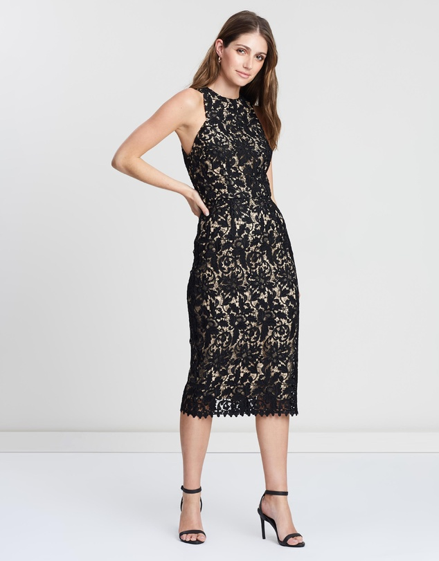 Cooper St - Snapdragon High Neck Lace Dress