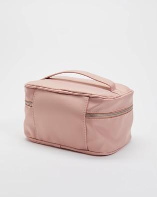 PETA AND JAIN Lola Beauty Train Case - Bags & Tools (Baby Pink)