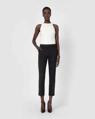 Forcast Stella High Waist Trousers Pants Black High-Waist