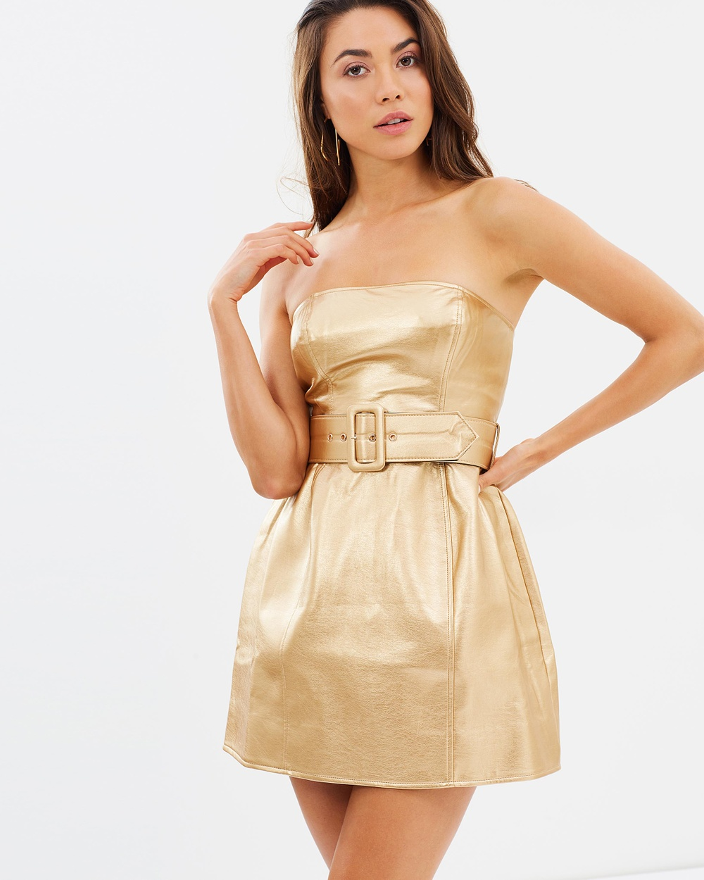 Misha Collection Jessie Dress Dresses Gold Jessie Dress