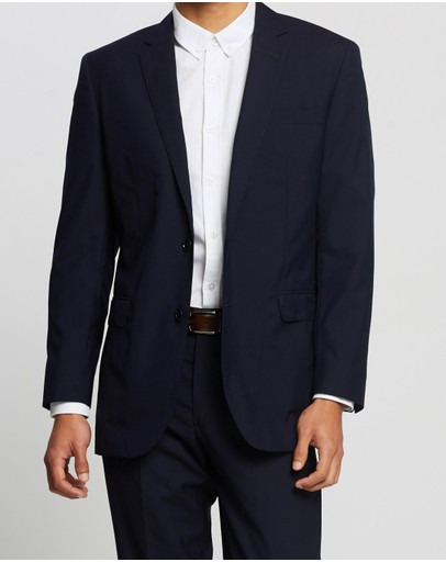 BROOKS BROTHERS - B-Gate 2-Button Side Vent Milano Jacket