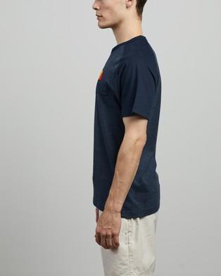 Ellesse - Coper Tee T-Shirts & Singlets (Navy Marl)