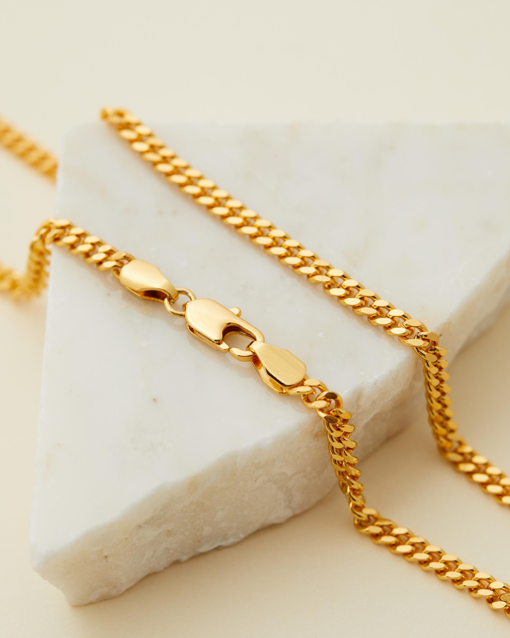 Brie Leon Classic Chain Necklace Jewellery Gold Plated
