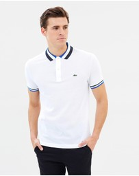 Lacoste - Slim Fit Polo with Contrast Trim