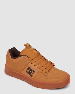 DC Shoes Mens Lynx Zero  Shoe - Sneakers (BROWN/WHEAT)