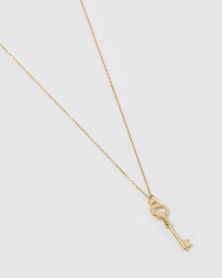 Australia Izoa Keepsake Necklace - Jewellery (Gold)