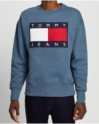 Tommy Jeans - Tommy Flag Crew