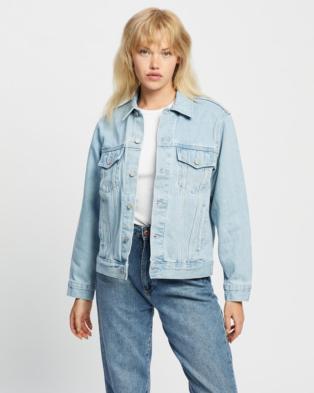 Assembly Label Tome Denim Jacket jacket Pacific Blue