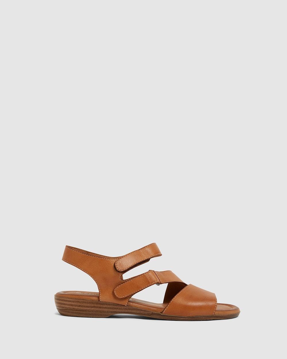 Easy Steps Kenya Sandals COGNAC