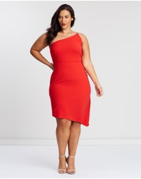 Atmos&Here Curvy - Lucy One-Shoulder Dress