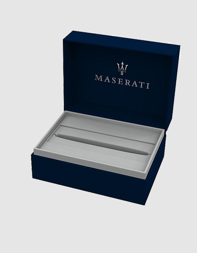 Women Maserati Jewels Sporty Stainless Steel Textured Ballpoint Pen