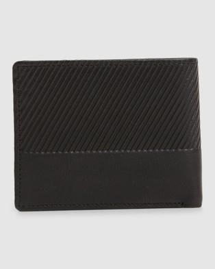 Billabong Helmsman Rfid Flip Wallet - Wallets (BLACK)