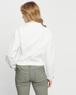DRICOPER DENIM - Walker Roxy Jacket - Denim jacket (Crispy White) Walker Roxy Jacket