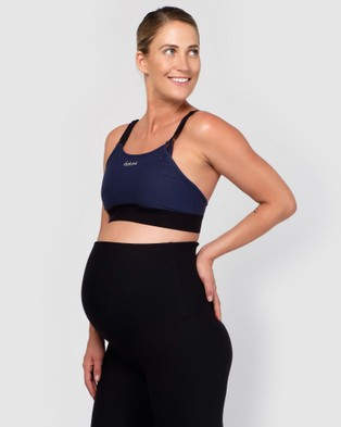 dk active Lily Maternity Bra Sports Bras & Crops Navy