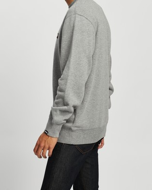 Napapijri Base C   Unisex - Sweats (Medium Grey Melange)