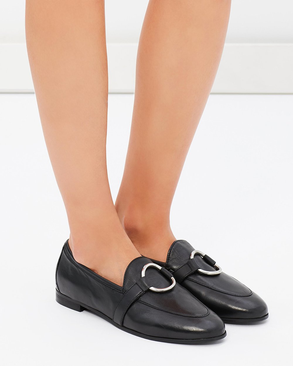 7f55c80874b Kreme Ring Loafers Wide Fit by TOPSHOP Online
