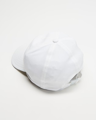 adidas Performance - AEROREADY Baseball Cap - Headwear (White & Black) AEROREADY Baseball Cap