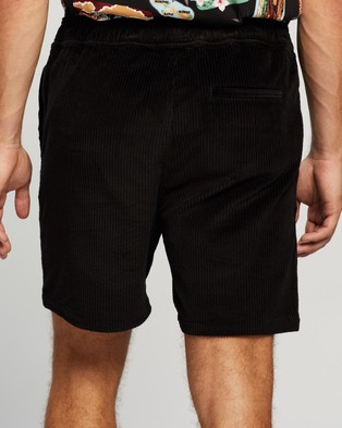 Everloom Ever Cord Pull On Shorts - Shorts (Black)