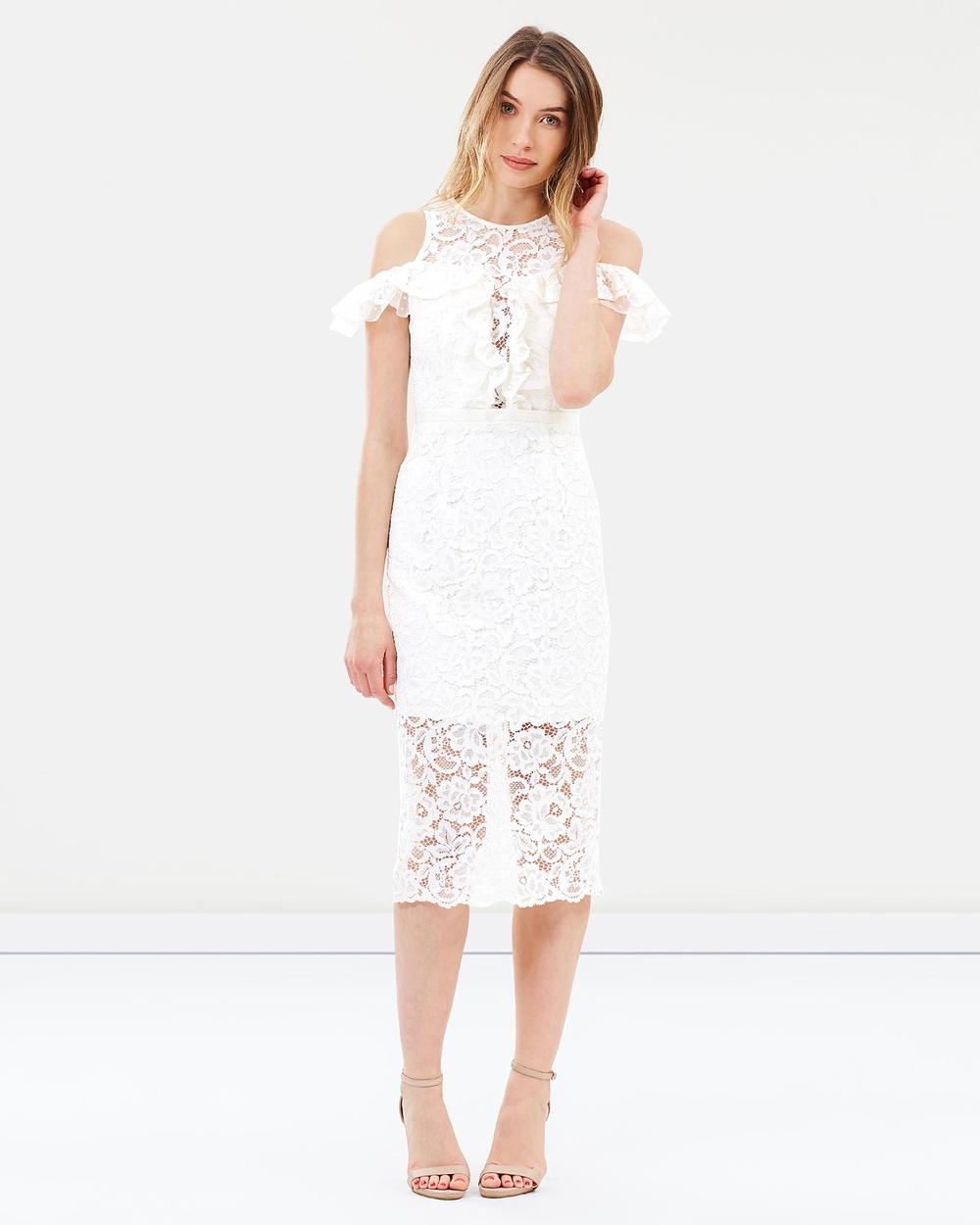 Love Honor Paris Lace Dress Bridesmaid Dresses Ivory Paris Lace Dress